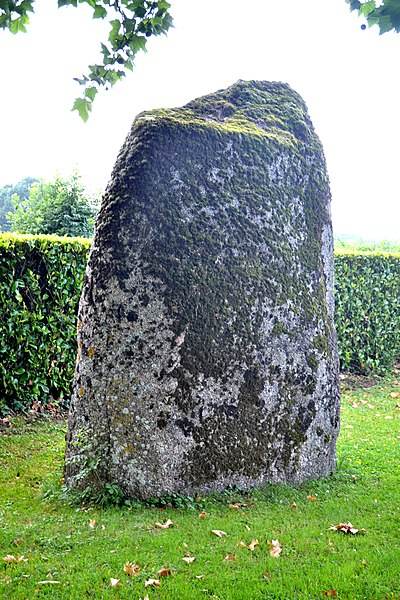 Photo du Monument Historique Menhir situé à Saint-Germain-de-Prinçay
