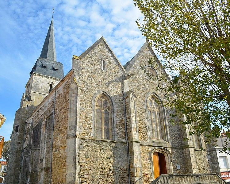 Photo du Monument Historique Eglise de Saint-Gilles situé à Saint-Gilles-Croix-de-Vie