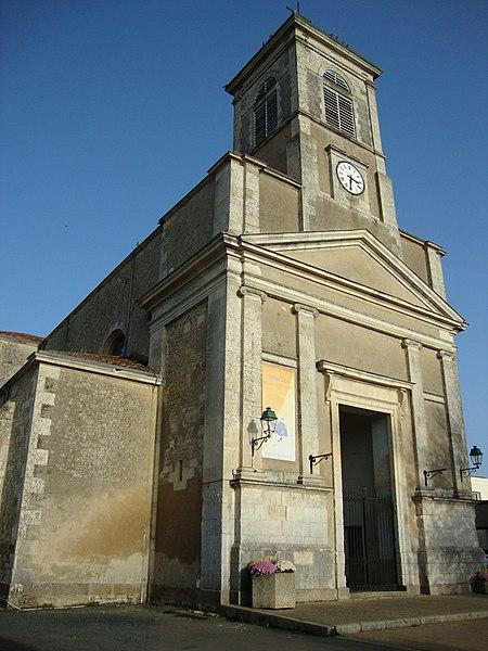 Photo du Monument Historique Eglise Notre-Dame et ancien ossuaire situé à Sainte-Hermine
