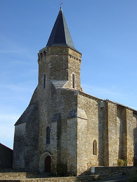 Photo du Monument Historique Eglise situé à Saint-Juire-Champgillon