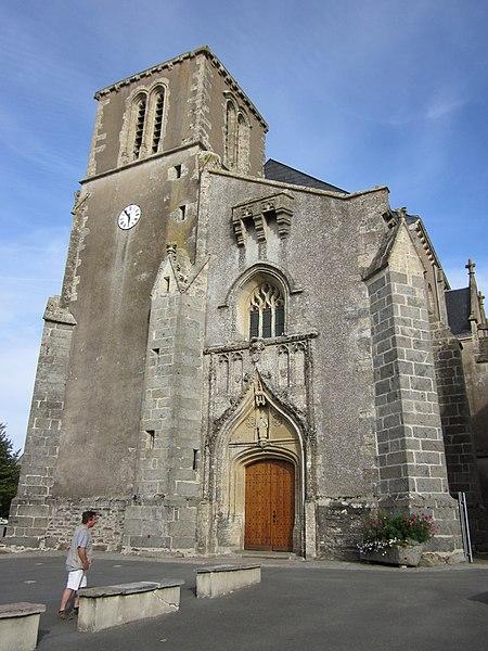 Photo du Monument Historique Eglise situé à Saint-Pierre-du-Chemin