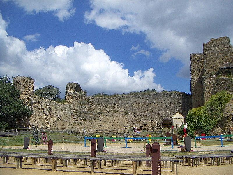 Photo du Monument Historique Château situé à Talmont-Saint-Hilaire