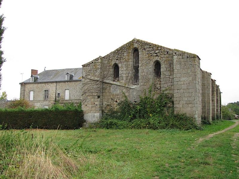 Photo du Monument Historique Monastère du Lieu-Dieu situé à Génétouze (La)