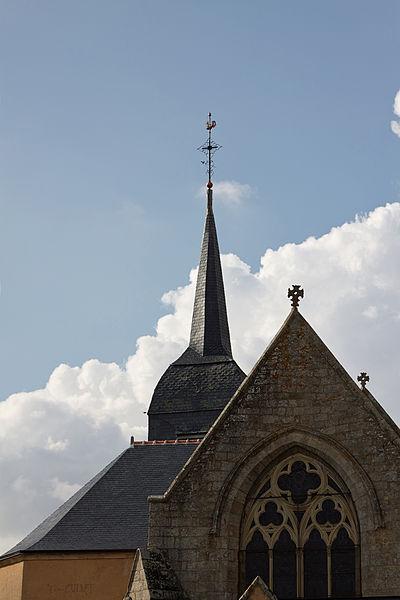 Photo du Monument Historique Eglise paroissiale situé à Beaufou