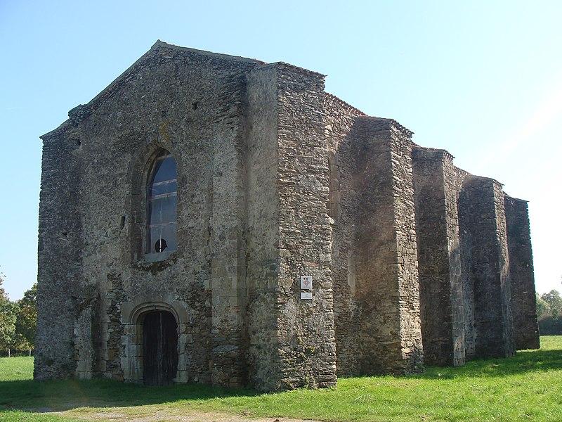 Photo du Monument Historique Ancienne commanderie de templiers de Coudrie situé à Challans