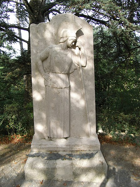 Photo du Monument Historique Lieu d'inhumation de Georges Clemenceau situé à Mouchamps