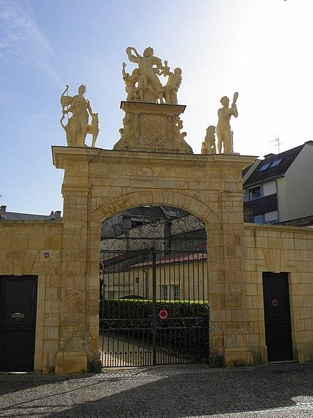 Photo du Monument Historique Hôtel dit Château-Gaillard situé à Fontenay-le-Comte