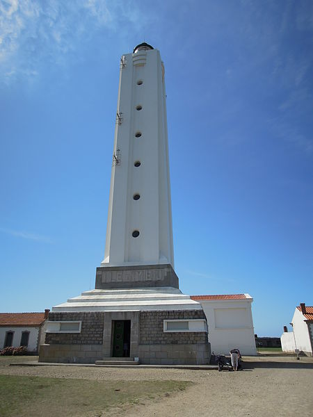 Photo du Monument Historique Le Grand Phare situé à L'Ile-d'Yeu