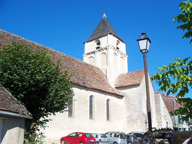 Photo du Monument Historique Eglise Saint-Martin situé à Angles-sur-l'Anglin