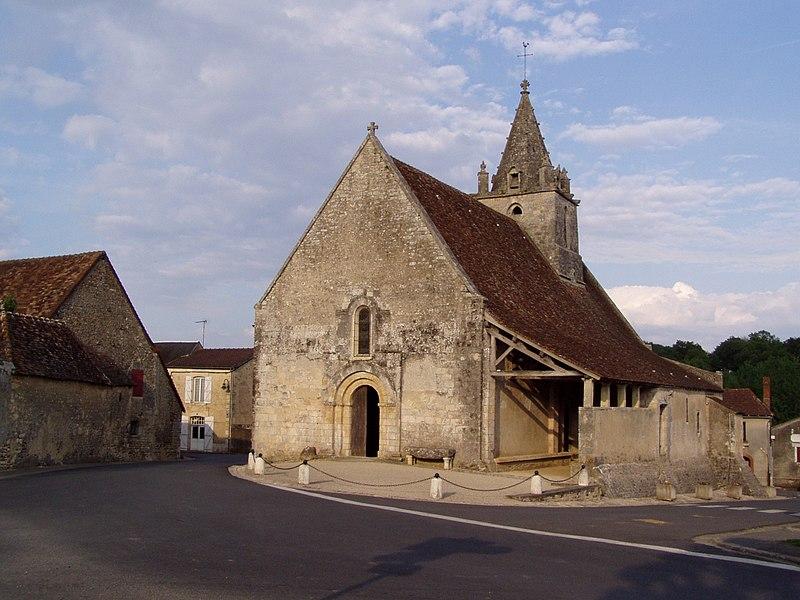 Photo du Monument Historique Eglise Notre-Dame situé à Antigny