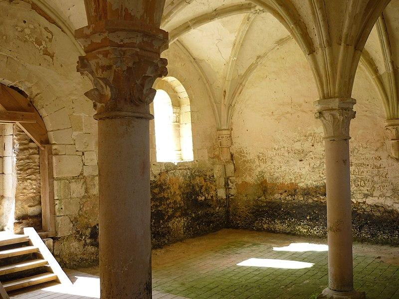 Photo du Monument Historique Abbaye de l'Etoile situé à Archigny