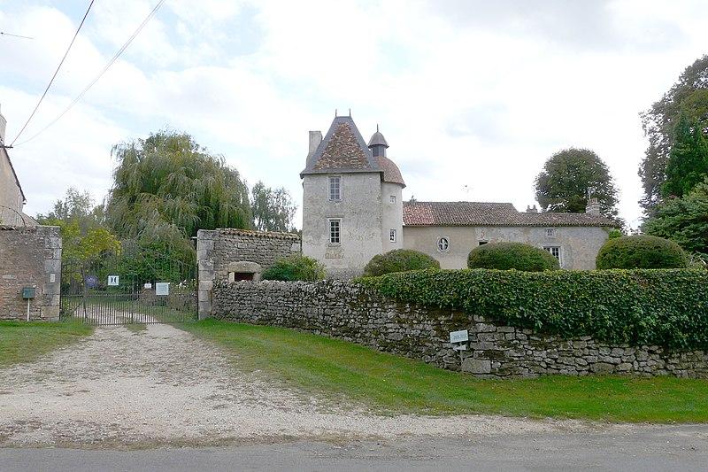 Photo du Monument Historique Ancien prieuré de Laverré situé à Aslonnes