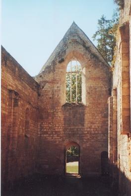 Photo du Monument Historique Ancienne abbaye du Pin situé à Béruges