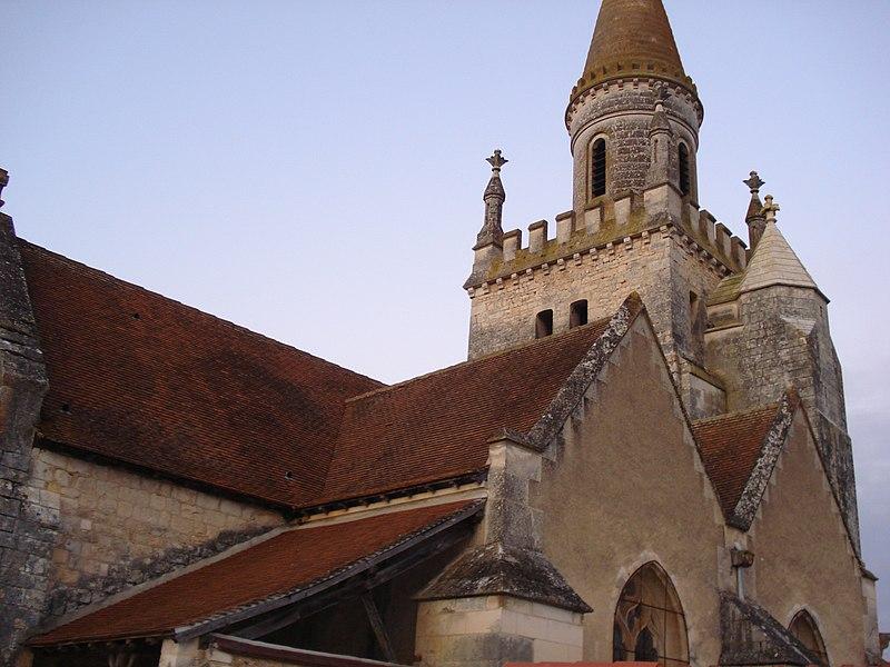 Photo du Monument Historique Eglise Saint-André situé à Bonnes