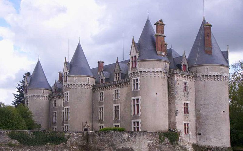 Photo du Monument Historique Château situé à Bourg-Archambault