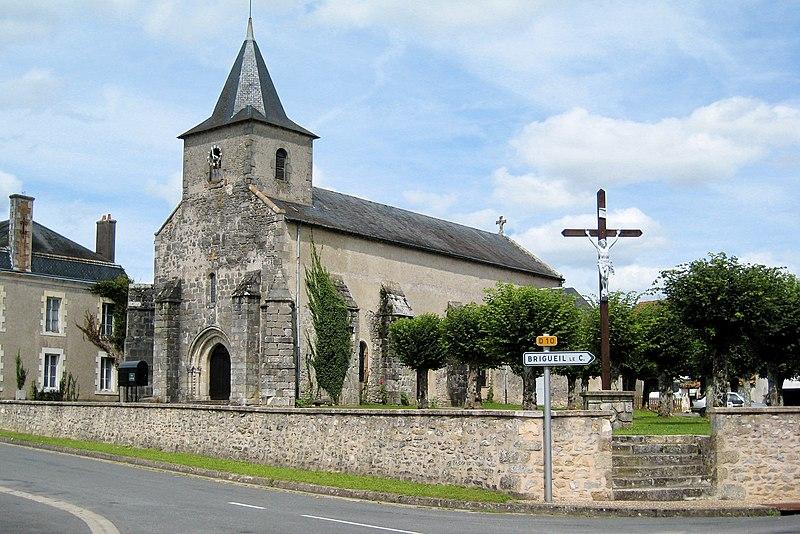 Photo du Monument Historique Eglise Saint-Laurent situé à Bourg-Archambault