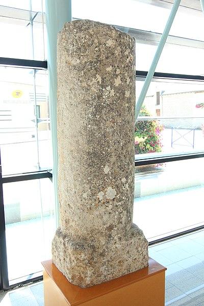 Photo du Monument Historique Borne milliaire romaine situé à Cenon-sur-Vienne