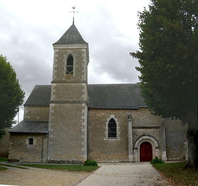 Photo du Monument Historique Eglise Saint-Martin situé à Charrais