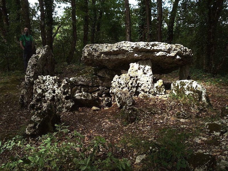 Photo du Monument Historique Dolmen d'Arlait B situé à Château-Larcher