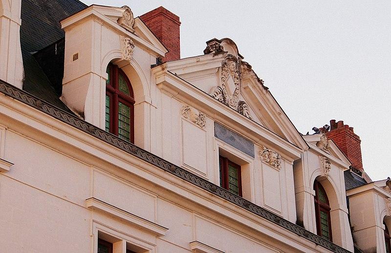 Photo du Monument Historique Hôtel Sully situé à Châtellerault
