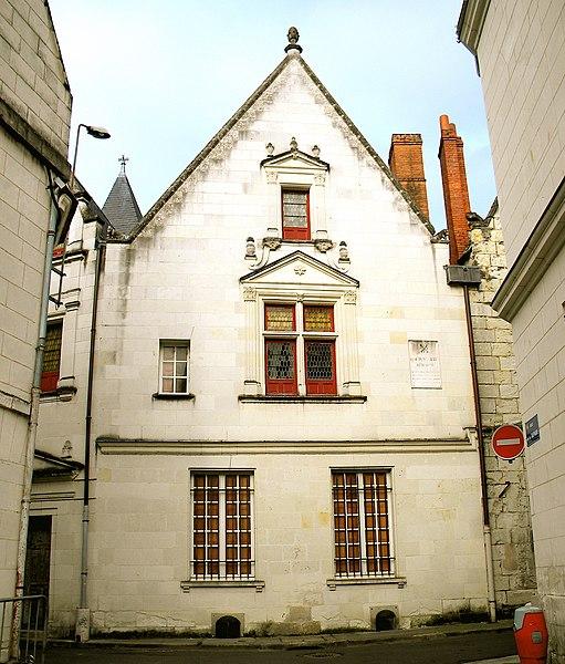 Photo du Monument Historique Maison de Descartes situé à Châtellerault