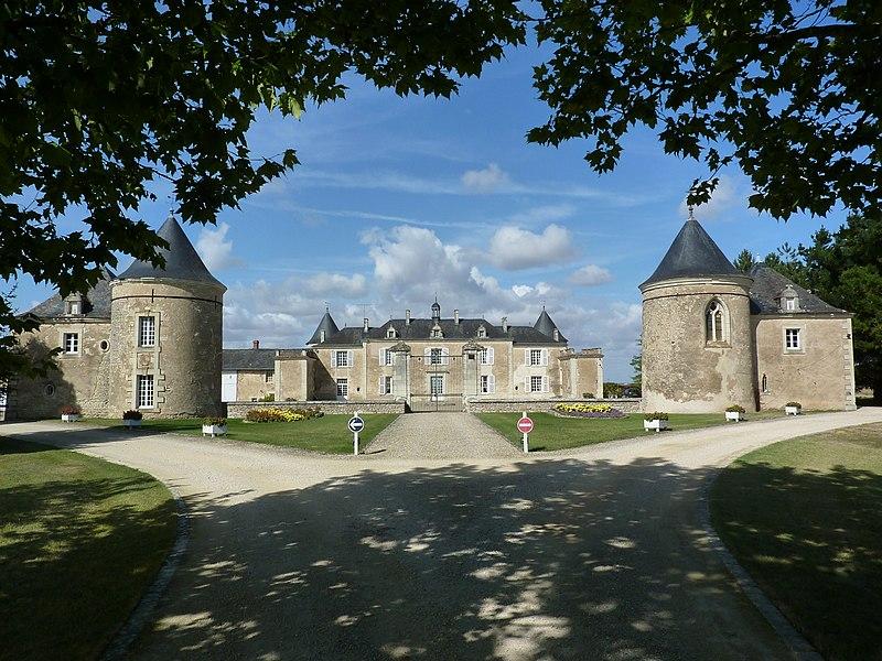 Photo du Monument Historique Château de La Bonnetière situé à Chaussée (La)