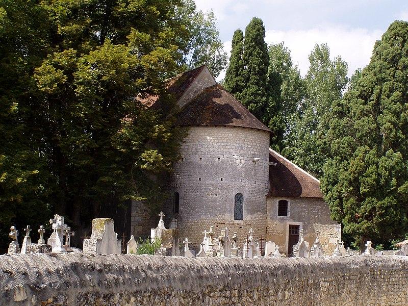 Photo du Monument Historique Eglise de Saint-Pierre-les-Eglises situé à Chauvigny