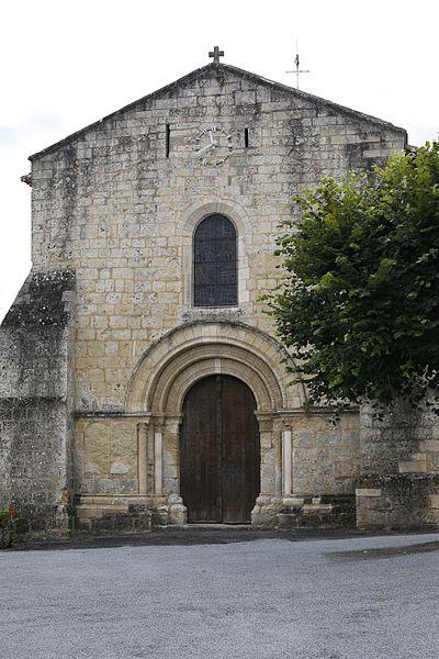 Photo du Monument Historique Eglise Saint-Jean-Baptiste situé à Chiré-en-Montreuil