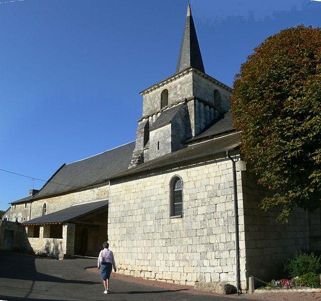 Photo du Monument Historique Eglise Saint-Saturnin situé à Chouppes