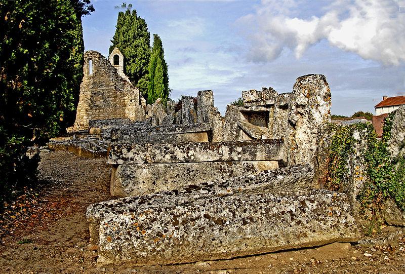 Photo du Monument Historique Cimetière gallo-romain situé à Civaux