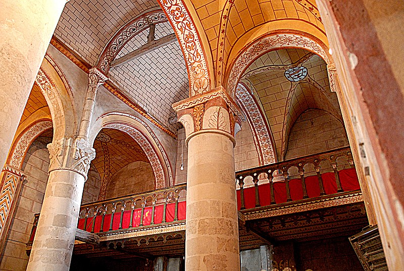 Photo du Monument Historique Eglise Saint-Gervais Saint-Protais situé à Civaux