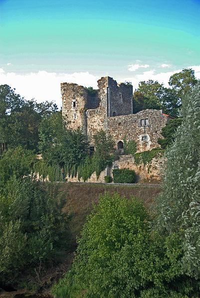 Photo du Monument Historique Tour aux Cognons situé à Civaux