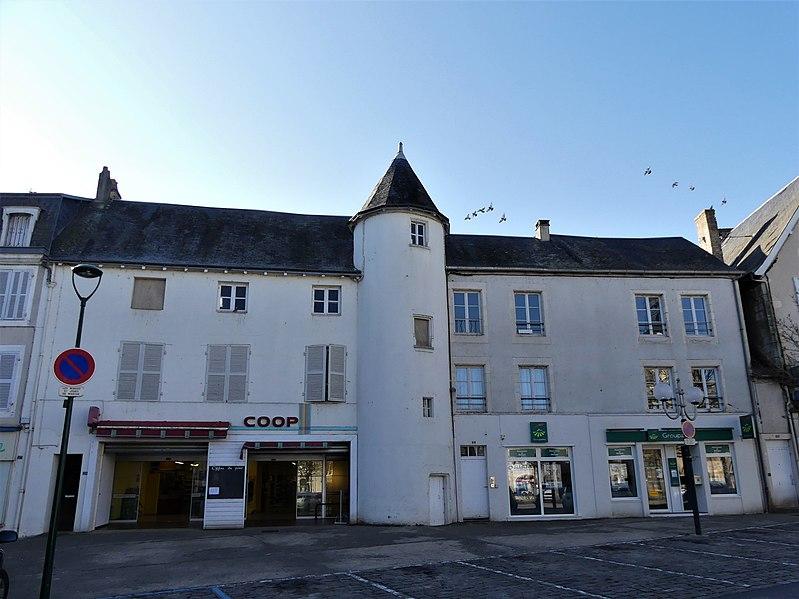 Photo du Monument Historique Maison situé à Civray