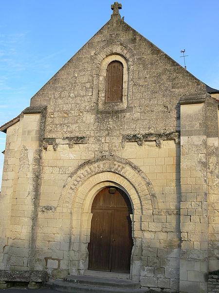 Photo du Monument Historique Eglise Notre-Dame situé à Colombiers
