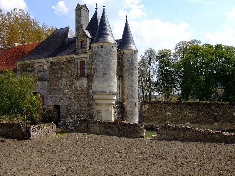 Photo du Monument Historique Château situé à Coussay
