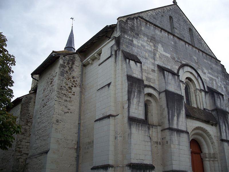 Photo du Monument Historique Eglise Notre-Dame situé à Coussay-les-Bois