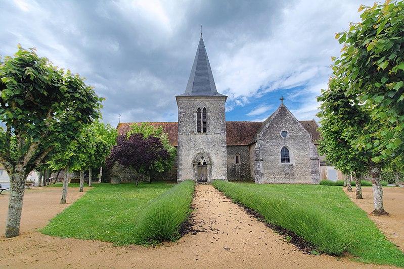 Photo du Monument Historique Eglise Saint-Martin situé à Curzay-sur-Vonne