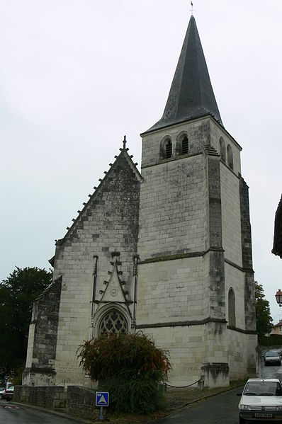 Photo du Monument Historique Eglise Saint-Pierre Saint-Paul situé à Dissay