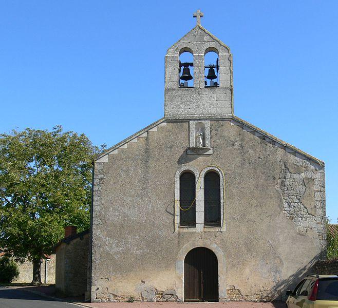 Photo du Monument Historique Eglise Notre-Dame-d'Or situé à Grimaudière (La)