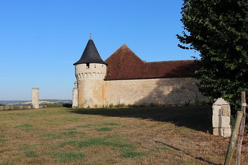 Photo du Monument Historique Château de la Groie situé à Ingrandes