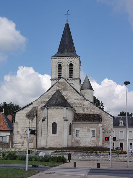 Photo du Monument Historique Eglise Saint-Pierre-et-Saint-Paul situé à Ingrandes