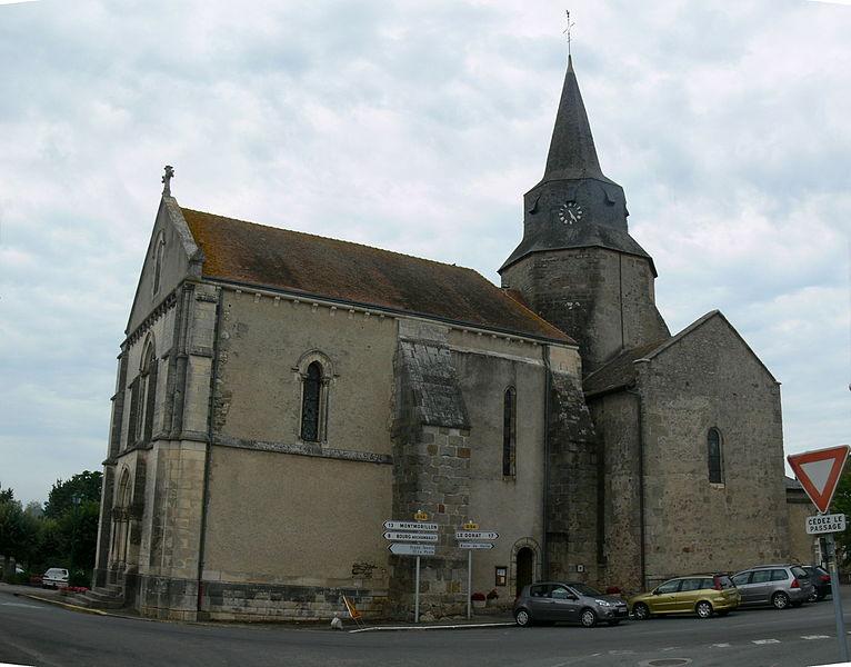 Photo du Monument Historique Eglise Saint-Maurice situé à Lathus-Saint-Rémy
