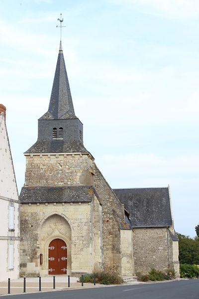 Photo du Monument Historique Eglise Saint-Rémy situé à Leigné-les-Bois