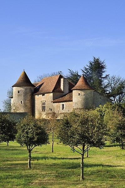 Photo du Monument Historique Logis du Magnou situé à Linazay