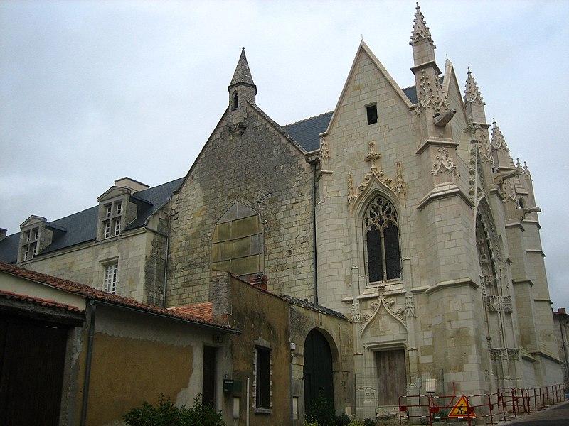 Photo du Monument Historique Couvent des Carmes situé à Loudun