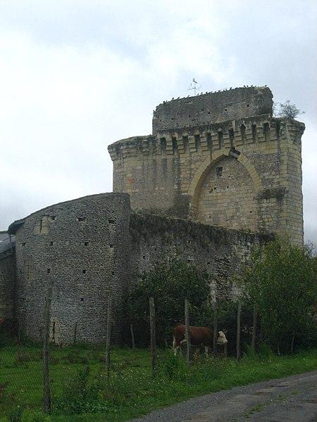 Photo du Monument Historique Château du Bois-Gourmond situé à Loudun