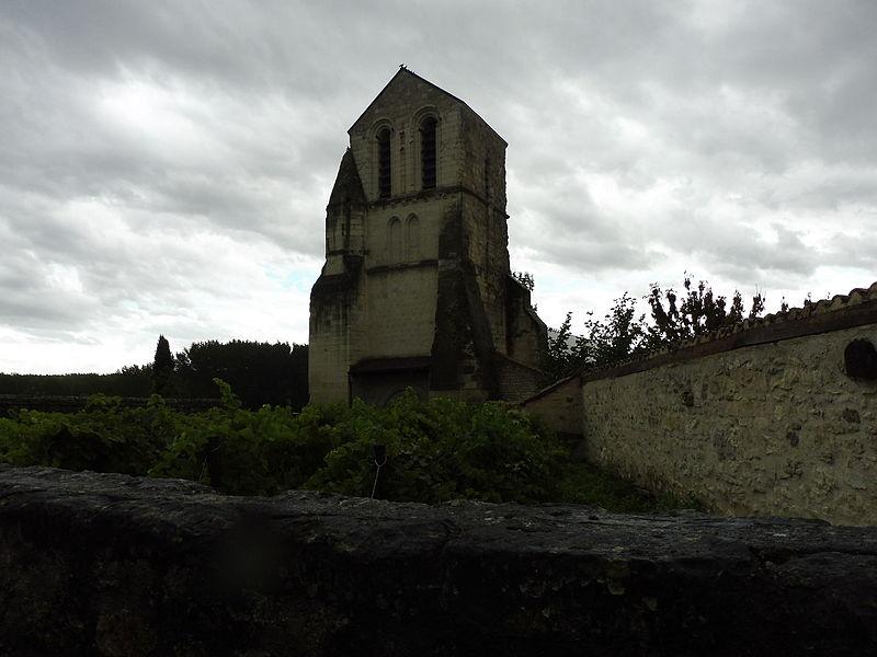 Photo du Monument Historique Eglise Saint-Léger-la-Palu situé à Marigny-Brizay