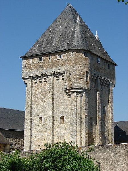 Photo du Monument Historique Château d'Auxances situé à Migné-Auxances