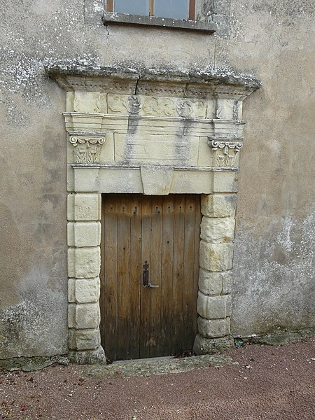 Photo du Monument Historique Eglise de Bournezeau situé à Mirebeau