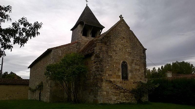 Photo du Monument Historique Eglise Saint-Martin situé à Montmorillon